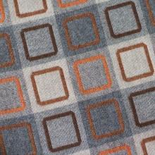 Squircle Outline Fabric – Orange